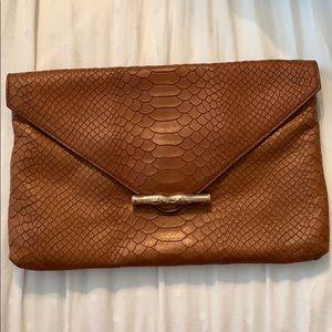 Elaine Turner Bella Leather Embossed Evenlope